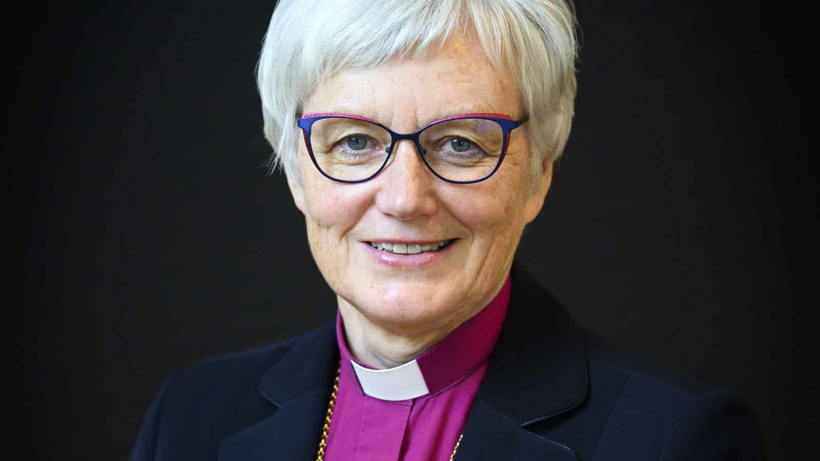 Antje Jackelén is Archbishop of the Church of Sweden